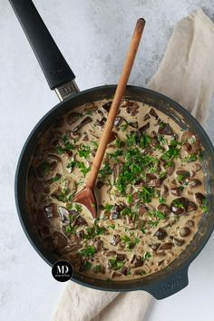 Sos grzybowy ze świeżych grzybów Food To Make, Menu, Dishes, Cooking, Recipes, Menu Board Design, Kitchen, Tablewares, Brewing