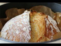 No Knead Bread Kruh koji se ne mijesi - YouTube