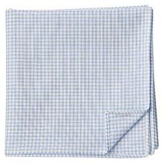 Muji Blue Organic Cotton Handkerchief 46cm x 46cm Mujirushi from Japan