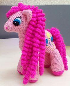 Розовая пони амигуруми. Схема вязания. | Амигуруми — схемы, амигуруми крючком, вязание и игрушки амигуруми. Амигуруми всех стран!