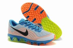 Hot Sale Nike Air Max 2015 Men Black White Blue Running Shoes