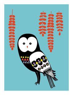 Barn Owl - yumiyumi on Etsy