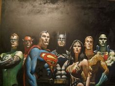 Justice League by Mark Texeira