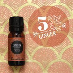 5 Uses for Ginger Essential Oil | Edens Garden