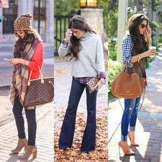 love all the fall outfits on this blog