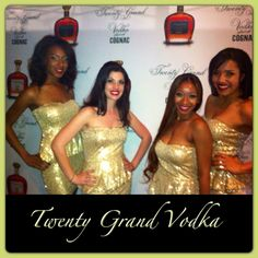 Twenty Grand Vodka- Good as Money...  This is where you need to be!! 3000 Broadway Bar & Lounge in Oakland.