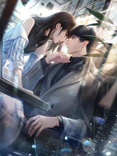 Hot Anime Couples, Romantic Anime Couples, Romantic Manga, Anime Couples Drawings, Love Cartoon Couple, Cute Couple Art, Manga Couple, Anime Love Couple, Anime Cupples