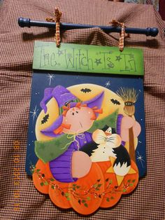 The Witch is In by AndersonGeneralStore on Etsy, $29.99