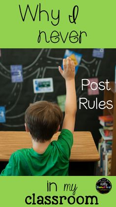 Teaching Fourth: Why I Never Post Rules in My Classroom. A positive alternative to posting rules in a classroom. Classroom Behavior, Special Education Classroom, Future Classroom, Elementary Education, Upper Elementary, Teaching Tools, Teaching Resources, Teaching Ideas, Teaching Procedures
