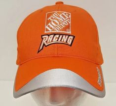 a57e9649e0b Tony Stewart NASCAR Home Depot Racing  20 Orange Silver Racing Cap Baseball  Hat  WinnersCircle