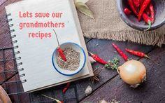 This new year we are going back to the ancestral recipes and bringing them back to life. Here is a recipe contest where you can share the unwritten recipes and save it forever. Go ahead and start sharing your treasured heirloom recipes and we will share them with the world.  Read more about the contet and what you can win --> http://ift.tt/2hMFfYH #Vegetarian #Recipes