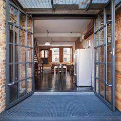 De antiguo almacén a hogar de estilo industrial en Londres · A warehouse convertion in London