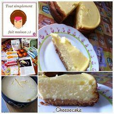 Mon premier cheese cake