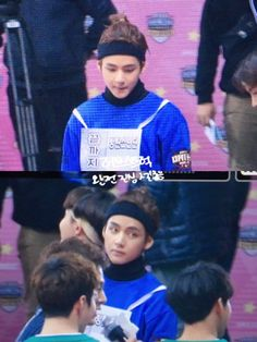 OMG Taehyung and that hair >ᴗ< #ISAC