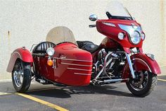 New Indian, old sidecar
