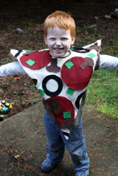 The cutest purim costume ever so adorable i could not resist diy costume ideas pizza solutioingenieria Image collections