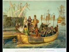 Check out this site for history of America the New World. European conquests in America the New World. Facts and information about America the New World My Father's World, Second World, Conquistador, Texas History, World History, Christopher Columbus Voyages, Christoph Kolumbus, Puerto Rico, Romans