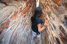 The narrowest alley in Italy  is in Ripatransone, Le Marche