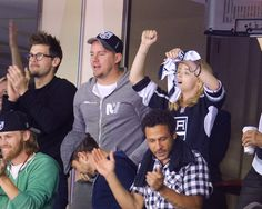 Channing Tatum - 2014 NHL Stanley Cup Final - Game Five