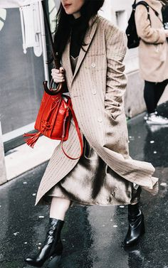 Fashion Girls Are Ditching Black Handbags for This Trend via @WhoWhatWear