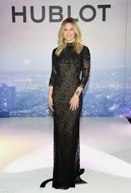 At the event Bar wore a couture gown made exclusively from fabric by Hublot partner Bischoff, the leading Maison Suisse lace house, in a nod to the launch of Hublot's newest women's timepiece collection –the Big Bang Broderie—done in collaboration with the storied firm.