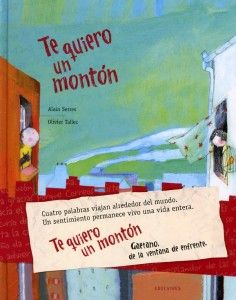 Está disponible en español en formato álbum y en formato de libro de lectura a partir de 5 años. Os recomendamos la versión álbum ya que contiene postales muy bonitas para guardar o enviar.