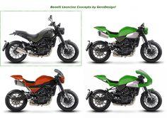 Benelli Leoncino concepts