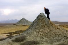 AZERBAIJAN - Mud Volcanoes of Absheron
