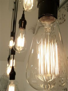 Edison lightbulbs so much cooler than original bulbs!