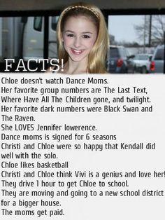 Chloe Facts!