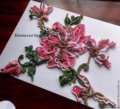 Ирландское кружево - великолепные цветы от Наташи Бондаренко . Обсуждение на LiveInternet - Российский Сервис Онлайн-Дневников