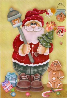 special noel - Page 3 Santa Crafts, Christmas Paper Crafts, Christmas Wood, Christmas Pictures, Winter Christmas, Christmas Time, Vintage Christmas, Christmas Decorations, Christmas Ornaments