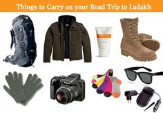 Things to carry to your road trip to Ladakh