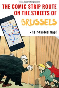 The challenge: embark on a comic walk around Brussels with this informative guide + mapThere is probably no other city in the world that has as many comic book stores as Brussels. There is also hardly any other city where