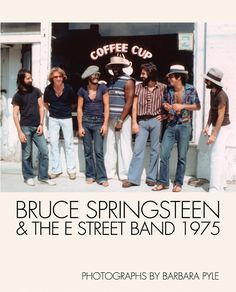 Bruce Springsteen & The E Street Band 1975 (Photographs by Barbara Pyle) (HARDBACK BOOK) - Badlands