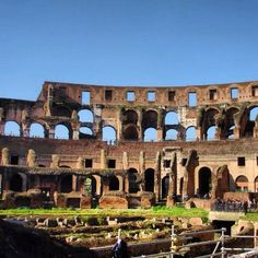 Colosseum - Rome - You just have to wrap your mind around standing in this historic place!