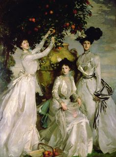 Portrait of the Acheson Sisters John Singer Sargent 1902