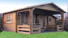 Holbury log cabin