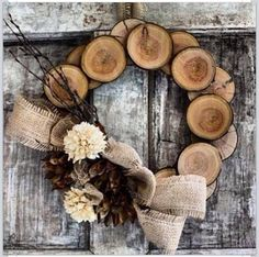 Wooden Wreath @bngonzo let's make this!
