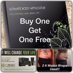 "✳️ now YOU can get beach body ready for spring break, even CHEAPER!   Get 2 boxes of wraps (that's 8 wraps total) for $59! Don't buy 1 for $25 when you can get 8 for $59!   If you've been wanting to try those crazy wrap things,  now's the time to get them.  Offer expires 1/27 @ 10:00 EST COMMENT ""Yes"" below and I'll message you on how you can get yours!  #BOGOisback #lovethisjob"