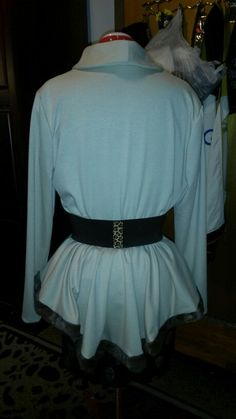 Finally finish the jacket/top back view