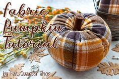 Everything is coming up Pumpkin here at Fat Quarter Shop! We are sew excited to share a new, quick tutorial with your today . Pumpkin Stem, Diy Pumpkin, Pumpkin Crafts, Fall Crafts, Pumpkin Ideas, Halloween Crafts, Halloween Ideas, Sewing Patterns Free, Free Sewing
