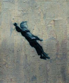 "Saatchi Online Artist: Ko Smith; Oil, 2011, Painting ""5 Ws"""