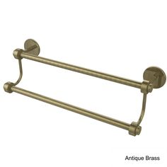 Allied Brass Satellite Orbit Two Collection 18-inch Double Towel Bar (