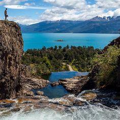 Puerto Guadal, Lago General Carrera. Región de Aysén.