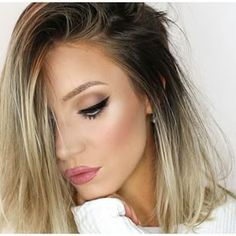 Love this ombre hair Beauty Make-up, Beauty Hacks, Hair Beauty, Portrait Girl, Corte Y Color, Tips Belleza, Ombre Hair, Gorgeous Hair, Pretty Hairstyles