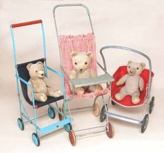 Fall desserts don't get much tastier than these ea Baby Doll Furniture, Prams And Pushchairs, Dolls Prams, Old Dolls, Miniature Dolls, Vintage Toys, Baby Dolls, Children, Kids