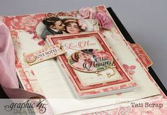 Tati, Just Married, Mixed Media Album, Mon Amour, Poduct by Graphic 45