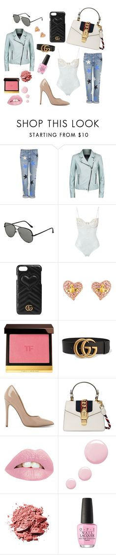 """Everyday Gucci Moment 😘"" by chvbbynymph on Polyvore featuring STELLA McCARTNEY, SET, Topshop, La Perla, Gucci, Vivienne Westwood, Tom Ford, Steve Madden and OPI"