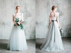 Milamira Bridal Source by SuzySchettler The post A Spring Fairy Tale! 35 Enchanting Romantic Dresses For Spring Brides appeared first on wedding. Fairy Wedding Dress, Disney Wedding Dresses, Blue Wedding Dresses, Boho Wedding, Bridal Dresses, Wedding Gowns, Bridesmaid Dresses, Prom Dresses, Vestidos Color Pastel